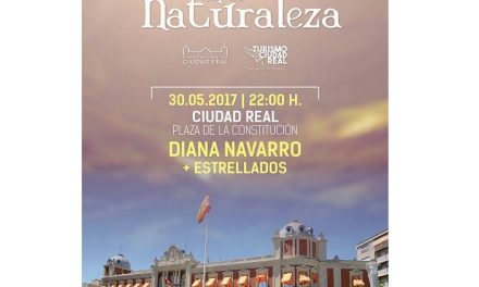 Mañana, cita con Diana Navarro en la Plaza de la Constitución de Ciudad Real