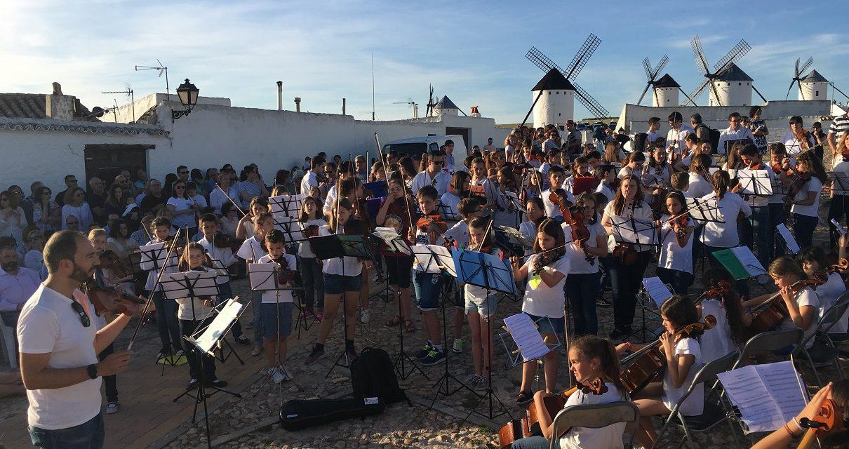 130 músicos de toda España se dan cita en Campo de Criptana para participar en el I Quixote Strings