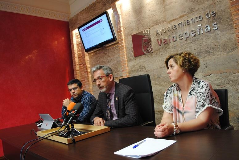El Ayuntamiento de Valdepeñas ya permite pagar tasas y precios públicos de manera on-line