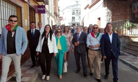 Luis Alberto Lara destaca en Alcoba, con motivo de la Llega 2017, la importancia que tiene la unión entre los pueblos