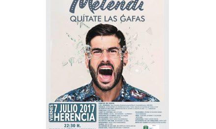 Aún puedes adquirir tu entrada para disfrutar del irrepetible concierto de Melendi en La Mancha