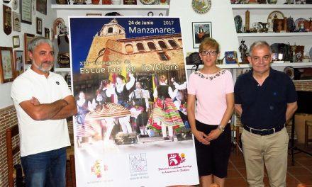Manzanares acoge el XII Encuentro de Escuelas de Folklore