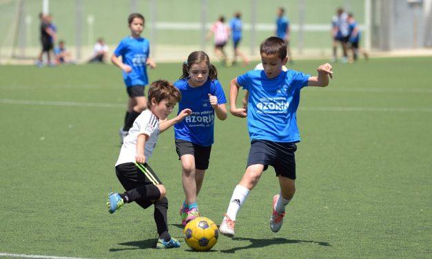 Doce equipos participaron en el XI Maratón Escolar de Futbol-8 en Argamasilla de Alba