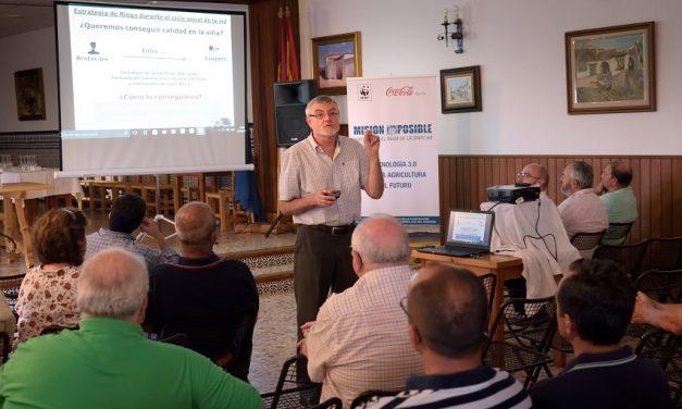 Las tecnologías 3.0 para la agricultura del futuro llegan a Argamasilla de Alba