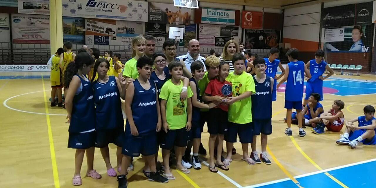 Alcázar recibe en el Díaz Miguel el Torneo Miniquijotebasket 2017