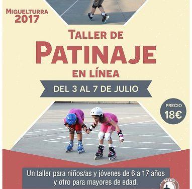 Abierto plazo para participar en una nueva edición del taller de patinaje en línea en Miguelturra
