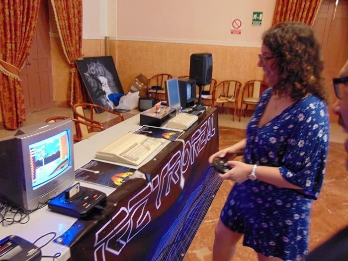 RetroReal reúne en el Espacio Joven a los aficionados a la retroinformática y los videojuegos