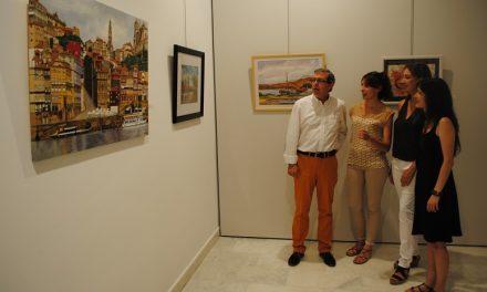 López Rodríguez inauguró la exposición de los XXX Talleres de Artes Plásticas 'Daniel de Campos'
