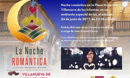 Villanueva de los Infantes celebrará 'La Noche Romántica'