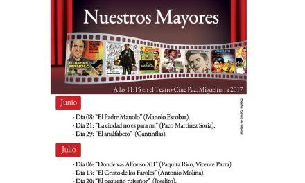 Comienza en Miguelturra el ciclo «Cine español con nuestros mayores»