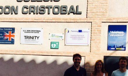 El Colegio Don Cristóbal obtiene su segundo proyecto europeo Erasmus+ de forma consecutiva