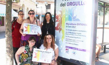 Presentación en Miguelturra de la primera «Jornada del Orgullo LGTBI»