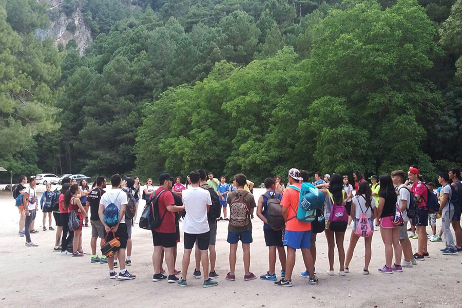 Más de un centenar de jóvenes de Valdepeñas han participado este curso en el programa 'Empu-G'