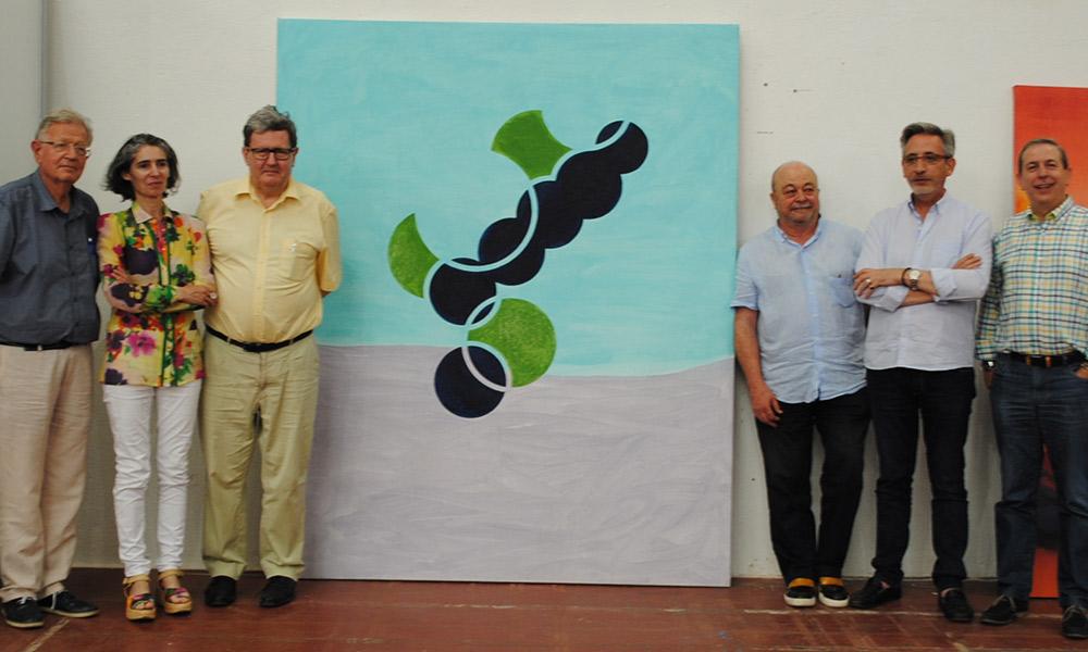 Una pintura de Eduardo Barco, Medalla de Oro de la 78 Exposición Internacional de Artes Plásticas