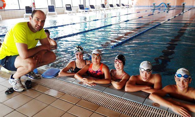Tres nadadores daimieleños participan en el Campeonato de España Alevín