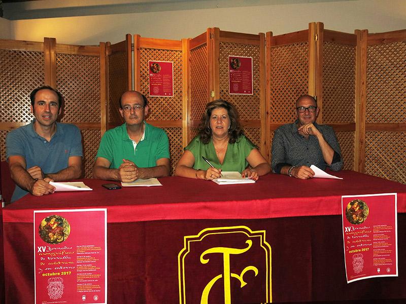 Presentación en Torralba de Calatrava de las XV Jornadas Monográficas