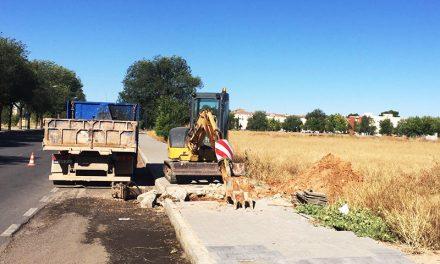 Una importante avería provoca un corte general de agua en Manzanares