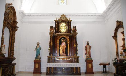 La iglesia de Santa Catalina luce tras sus obras de reforma tanto exteriores como interiores