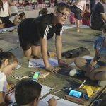 Gran éxito de participación y calidad en el Certamen de Dibujo Infantil Nocturno