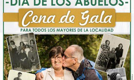 Herencia celebrará el homenaje a los mayores con una Cena de Gala para conmemorar el Día de los Abuelos