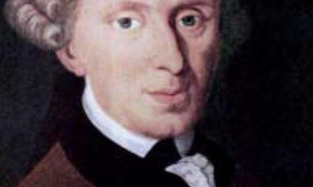Kant, tan raro como gran filósofo