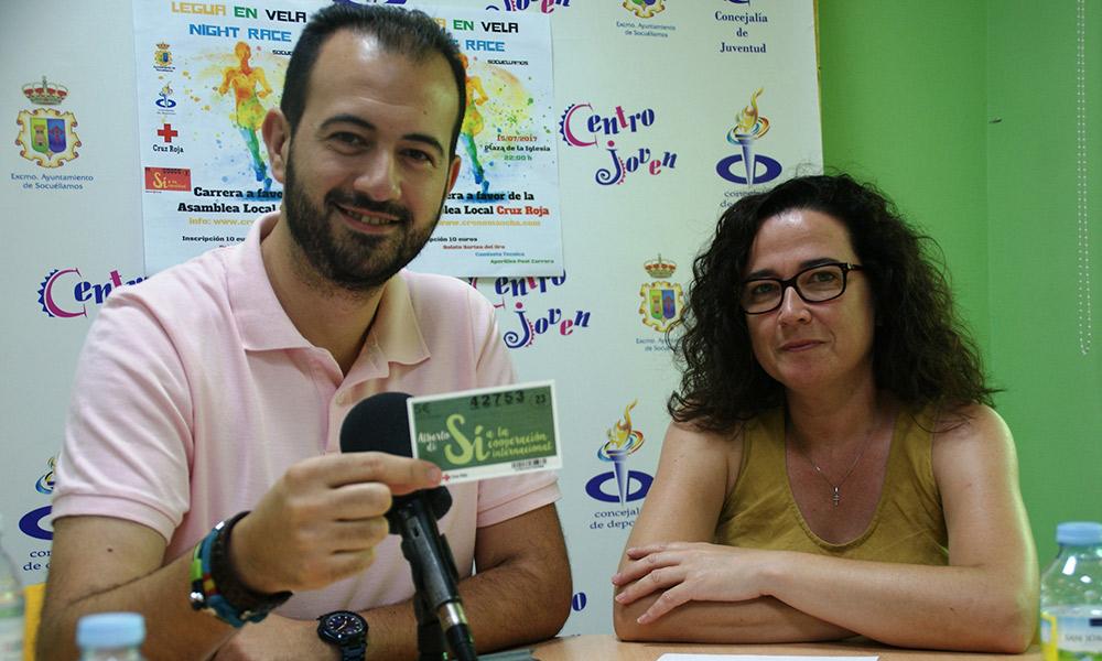 Cerca de 150 corredores participarán este sábado en la Legua en Vela, una carrera solidaria a beneficio de la asamblea local de Cruz Roja