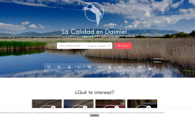 La asociación turística estrena web para facilitar las consultas desde dispositivos móviles
