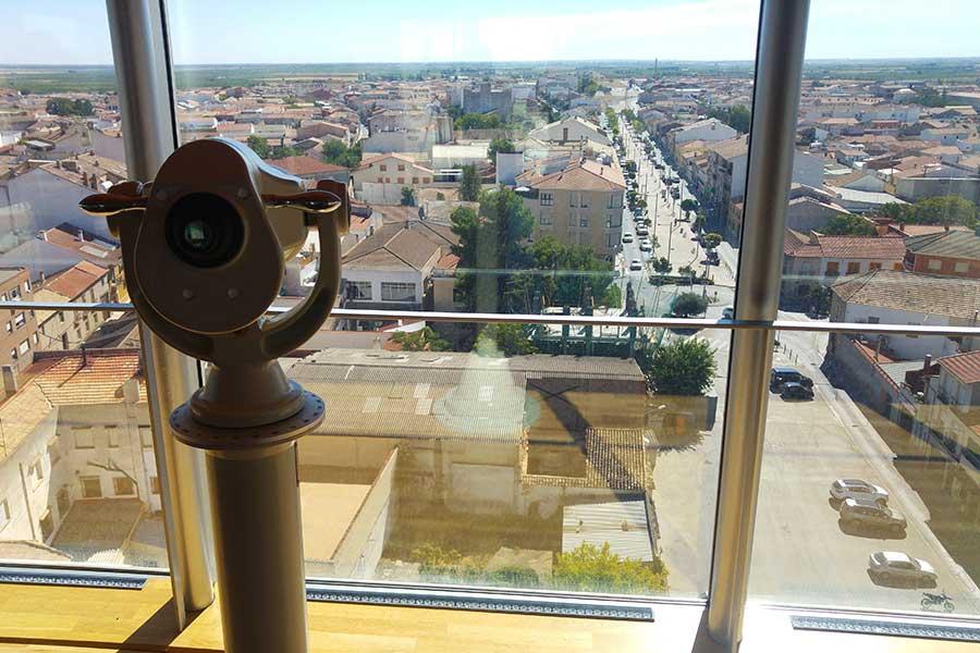 Abre el mirador del Museo Torre del Vino de Socuéllamos tras el visto bueno de los Servicios de Emergencias de Ciudad Real