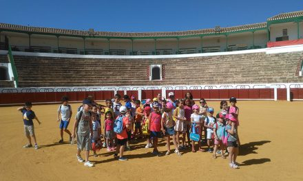 Varios grupos de jóvenes conocen la historia y encantos de Manzanares