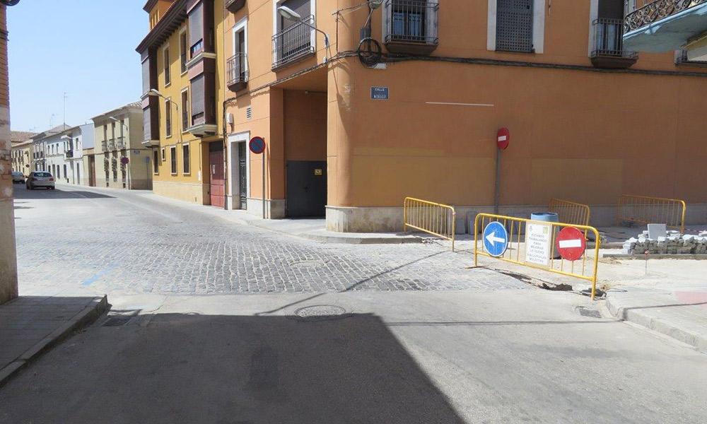 Las obras de semipeatonalización llegan el lunes a la plaza de Alfonso XIII