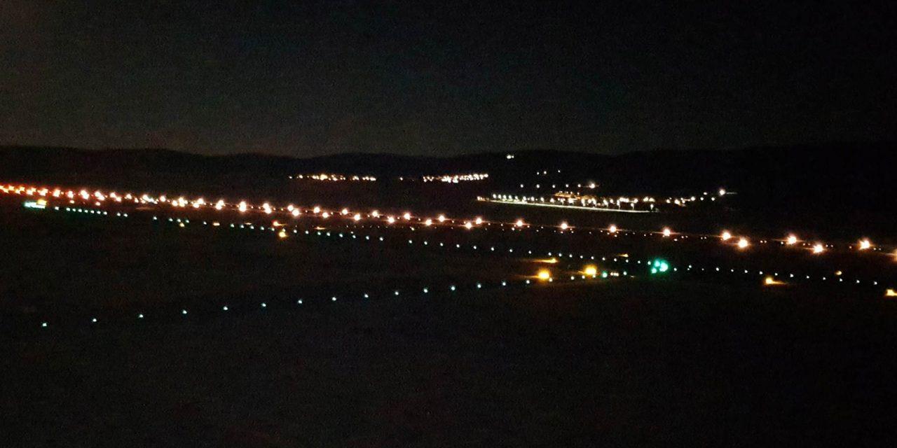 El aeropuerto de Ciudad Real revisa las luces de pista para que estén operativas tras el periodo de inactividad