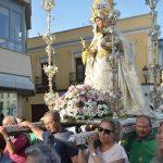 La Virgen de las Viñas llega a la ciudad para presidir la Feria y Fiestas que se celebran en su honor del 24 al 30 de agosto