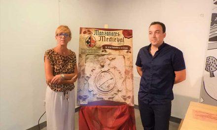 El escudo heráldico de la Casa de Los Corchado protagoniza el cartel de las VI Jornadas Medievales de Manzanares