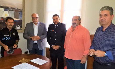 Toma posesión un nuevo Policía Local para completar la plantilla en Manzanares