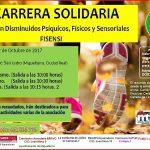 """La asociación Fisensi organiza la segunda edición de la """"Carrera Solidaria"""" el domingo 22 de octubre"""