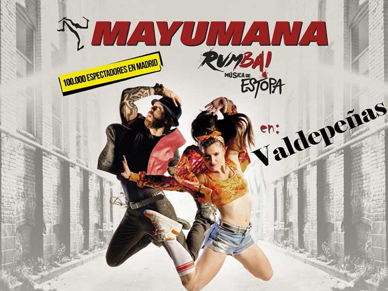 Mayumaná llega hoy a Valdepeñas, con música de Estopa, tras su éxito en la Gran Vía de Madrid