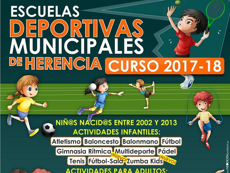 El Servicio Municipal de Deportes pone en marcha su programa para el curso 2017/2018