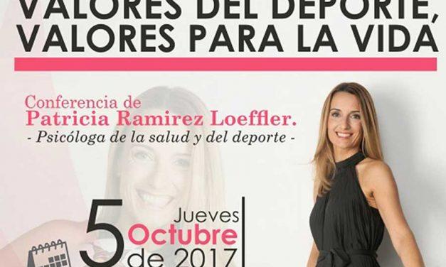 La psicóloga deportiva Patricia Ramirez visitará Herencia el próximo otoño