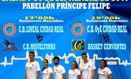 El nuevo proyecto del Club Baloncesto Ciudad Real se estrena mañana ante su afición
