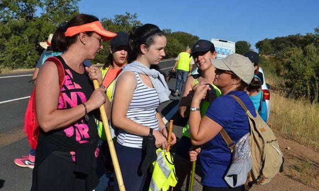 Los caminos en Ciudad Real se llenan de peregrinos y romeros para llegar a Guadalupe