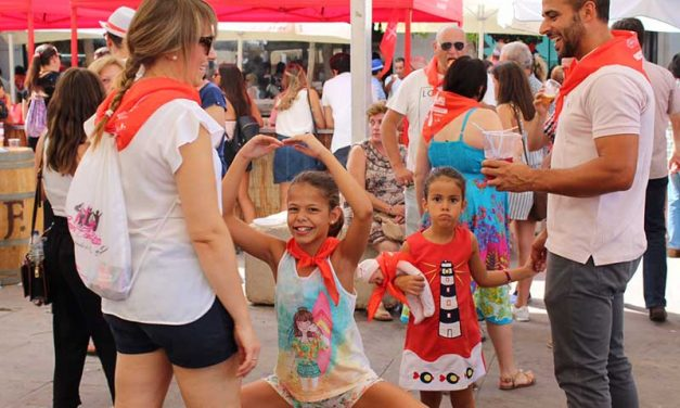Pipirrana y flamenquito protagonistas en la Feria de Día