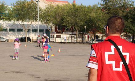 Cruz Roja organizó una jornada de patinaje con motivo de la Semana de la Movilidad