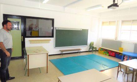 Los colegios públicos estrenan el curso con renovado aspecto