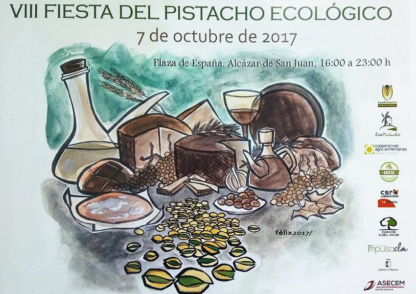 Presentada la VIII Fiesta del Pistacho Ecológico