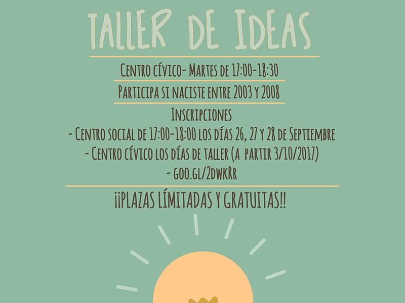 El ayuntamiento organiza un Taller de Ideas para jóvenes