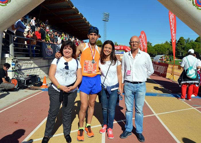 Abdel Kader El Hamdi y Gema Arenas, vencedores de la XXII Quixote Maratón