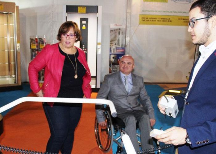 Más de 2.000 visitantes y muchas novedades en la II Feria de Accesibilidad