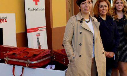 Cruz Roja pone en marcha en Alcázar de San Juan la campaña 'La Maleta que más Pesa'