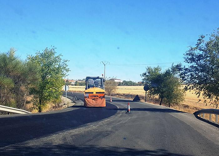 Arreglo de las vías de servicio de la variante de la N-430 a su paso por La Solana