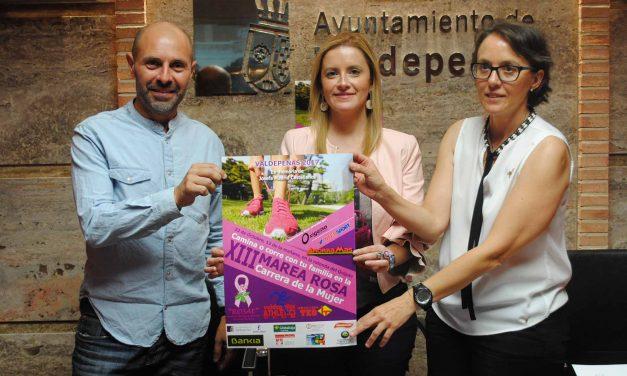 La 'XIII Carrera de la Mujer' de Valdepeñas contra el cáncer de mama se celebrará este domingo 22
